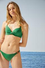 Womensecret Braga bikini anillas verde