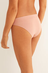 Womensecret Cuequinha clássica sem costuras nude rosa