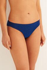 "Womensecret Braga bikini brasileña ""shinny"" azul"