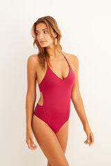 Womensecret Bañador-trikini halter rosa