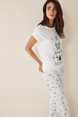 Womensecret Pijama largo Miffy beige