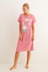 Womensecret Camisón manga corta Miffy rosa