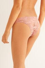 Womensecret Cuequinha clássica renda rosa rosa