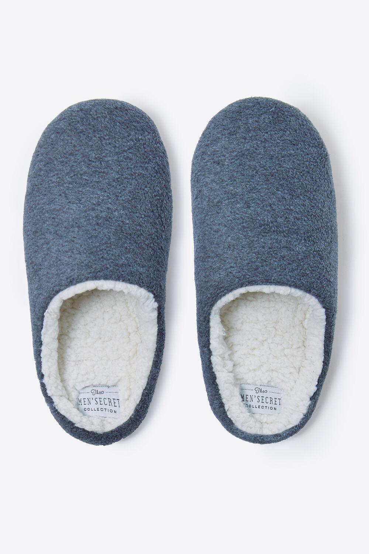 91cdc9b64c Womensecret Zapatillas abiertas básicas para hombre estampado
