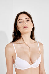 Womensecret FABULOUS Sujetador push up sin aros blanco