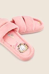 Womensecret Zapatillas ducha acolchadas rosa