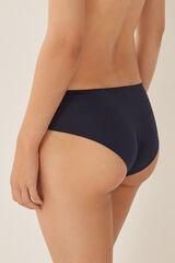 Womensecret Braguita culotte algodón encaje azul