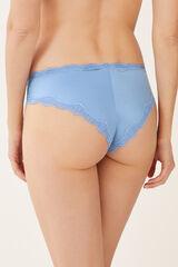 Womensecret Braguita culotte brasileño azul