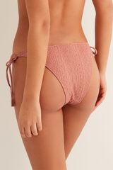 Womensecret Braga bikini brasileña textura rosa