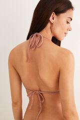 Womensecret Top bikini degradado rosa