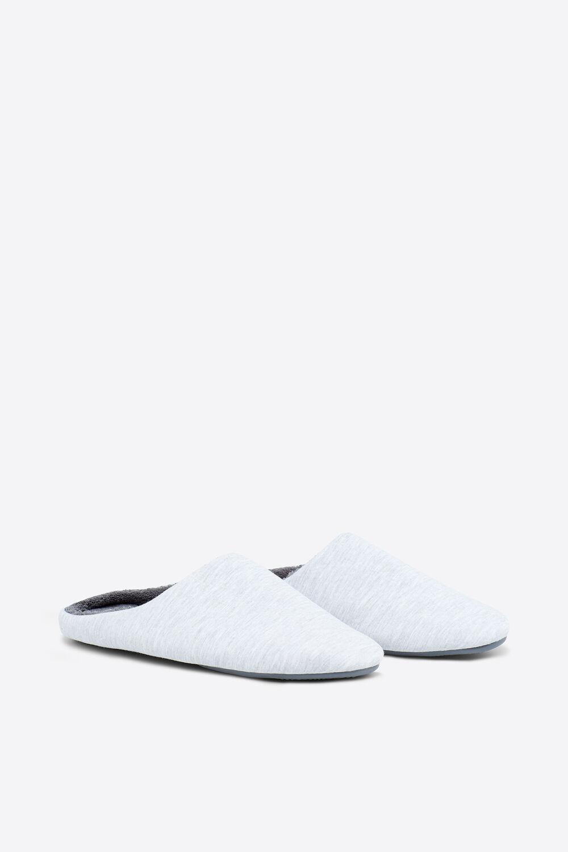 5cba05a3e7 Womensecret Zapatillas abiertas para hombre gris