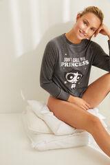 Womensecret Pijama manga larga Supernenas gris