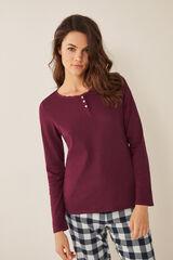 Womensecret Camiseta panadera rosa