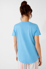 Womensecret T-shirt Snoopy 'Stay Cool' azul