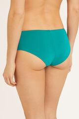 Womensecret Cuecas biquíni culotte lisas verde
