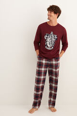 Womensecret Pijama comprido homem Hogwarts impressão