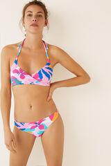 Womensecret Braguita bikini flores textura estampado
