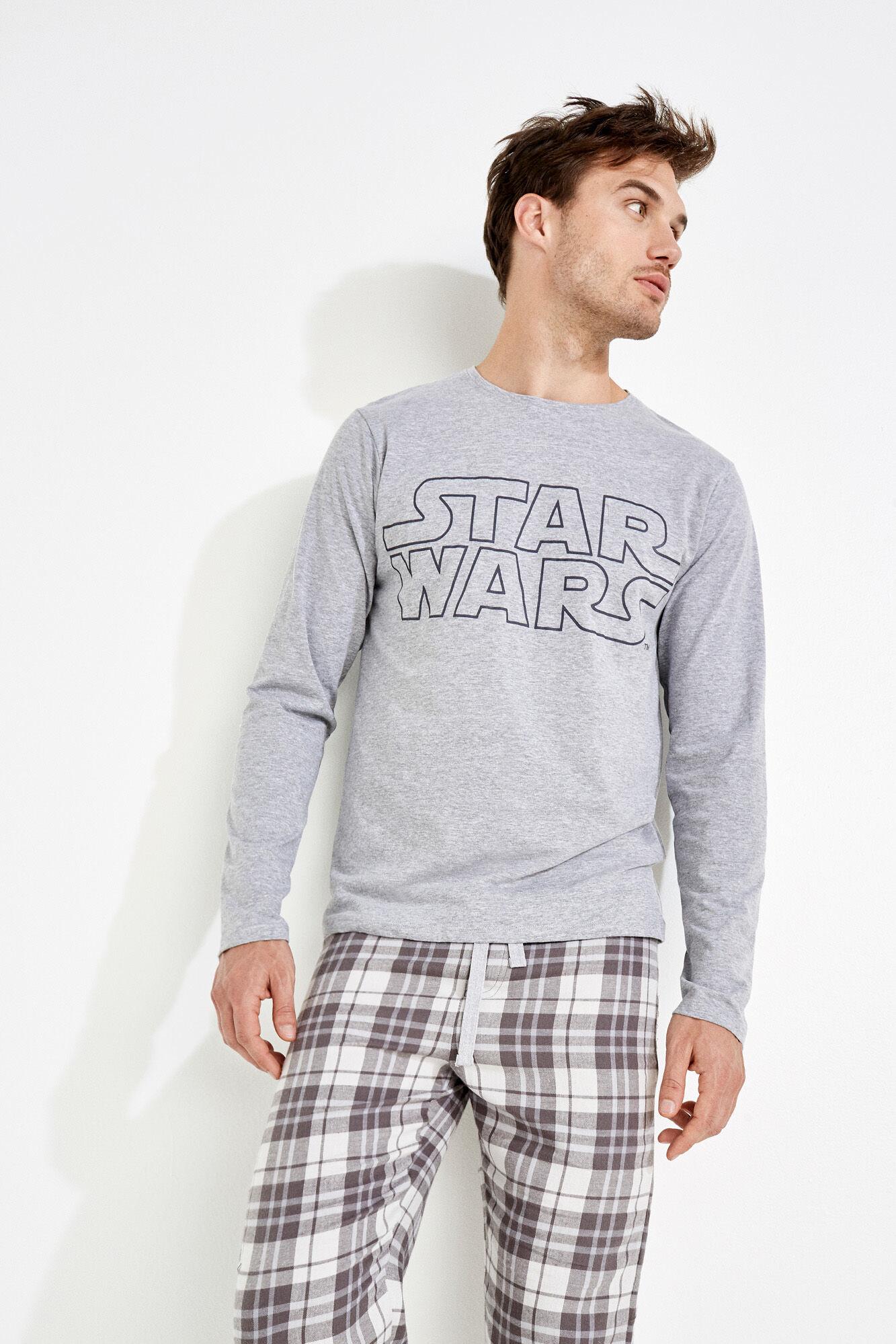 24edd87160 para hombre Star Pijama gris Wars algodón de de Womensecret xwa7qCE