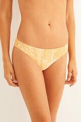Womensecret Braga bikini brasileña talle alto estampado