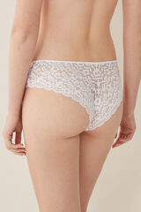 Womensecret Braguita culotte guipur blanco