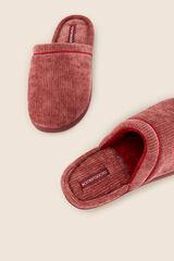 Womensecret Zapatillas de casa chenilla  rosa