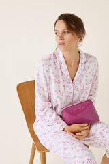 Womensecret Neceser mediano vinilo rosa rosa