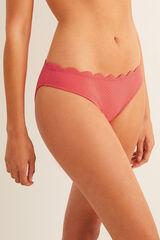 Womensecret Braga bikini detalle ondas rojo