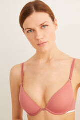 Womensecret Sujetador push up supersoft rosa