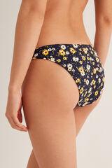 Womensecret Braga de bikini estampada. azul