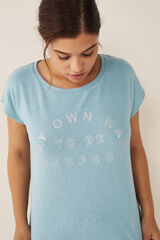 "Womensecret Pijama comprido ""my own way"" verde"