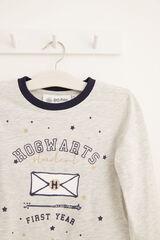 Womensecret Pijama largo kids Harry Potter gris gris