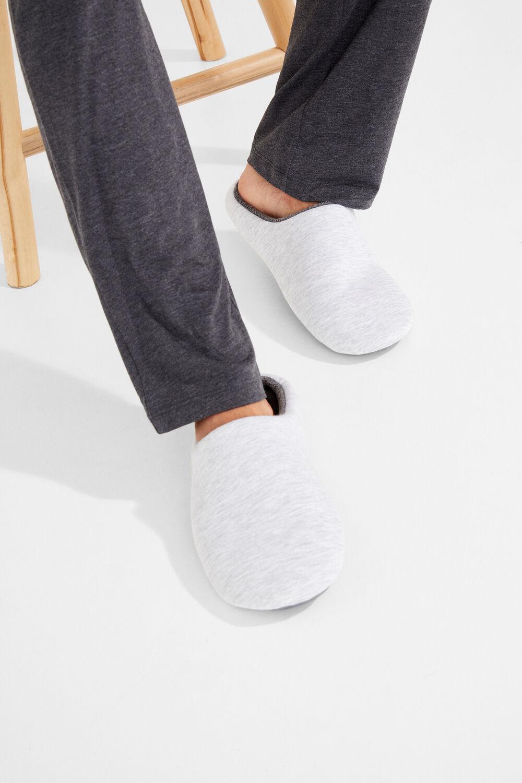 ff7beb52c0 Womensecret Zapatillas lisas para hombre gris