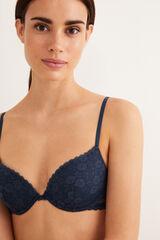 Womensecret BEAUTIFUL Sujetador clásico encaje azul
