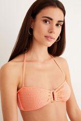 Womensecret Top bikini bandeau anilla rosa