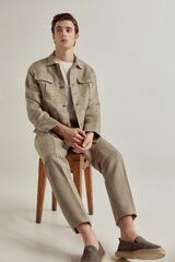 Conjunto chaqueta y pantalón de lino PdH