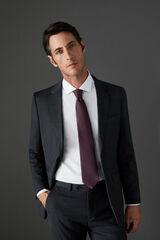 Conjunto traje gris slim fit