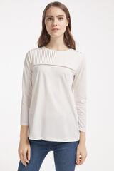 Conjunto camiseta lisa y jegging Milano