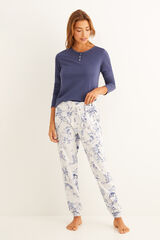Conjunto pijama estampado