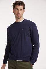 Conjunto jersey cuello caja y pantalón chino Milano