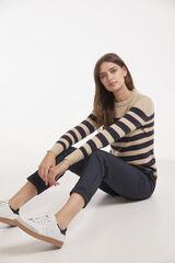 Conjunto jersey tacto suave y pantalón goma Milano