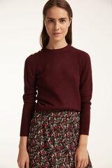 Conjunto jersey y falda midi plisada Milano