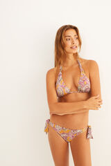 Conjunto bikini estampado multicolor