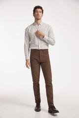Conjunto camisa cuadros y pantalón micropana Milano