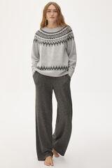 Conjunto jersey greca y pantalón punto Comfort