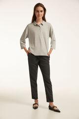 Conjunto camiseta cuello polo y pantalón Milano