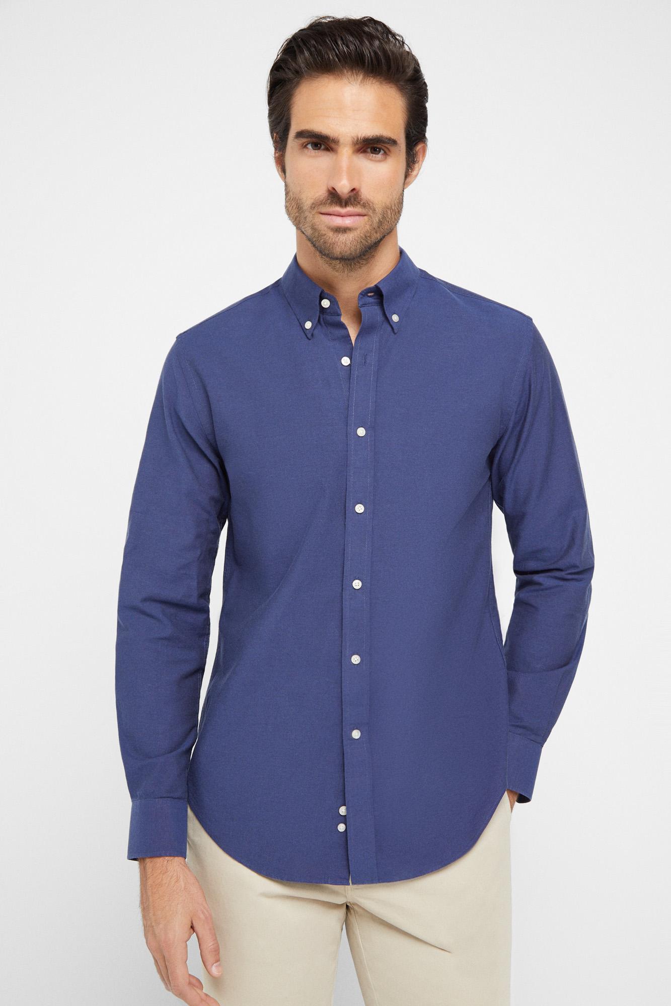Camisa Oxford algodón extra suave