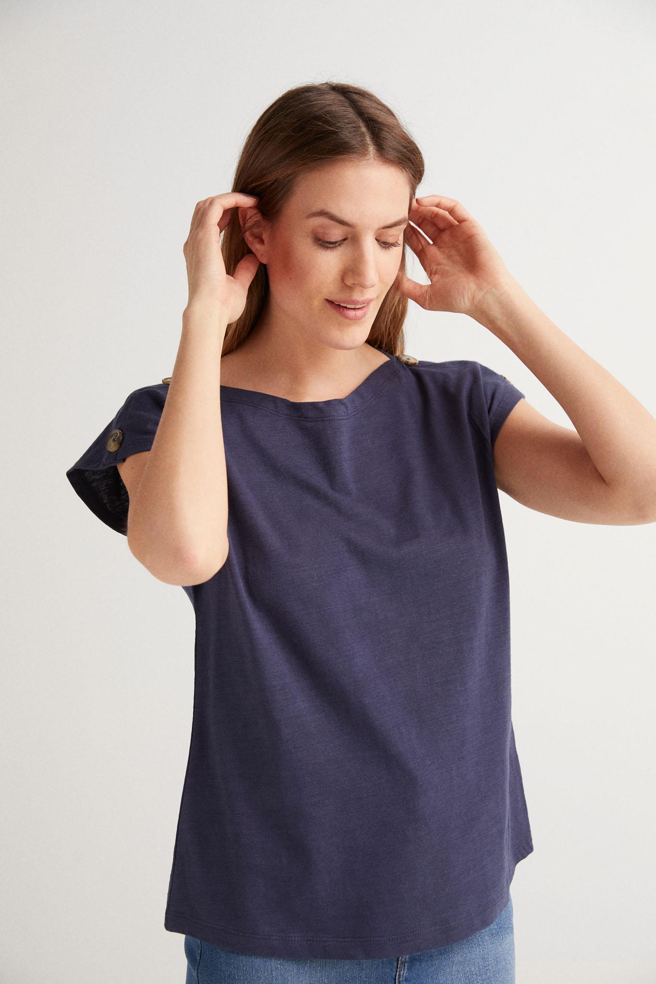 Camiseta lisa orgánica