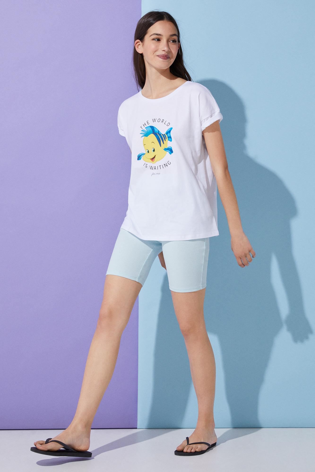 Camiseta Pez Flounder
