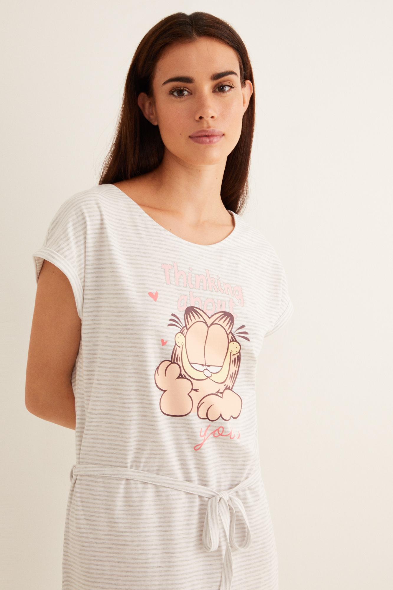 Camisón corto Garfield