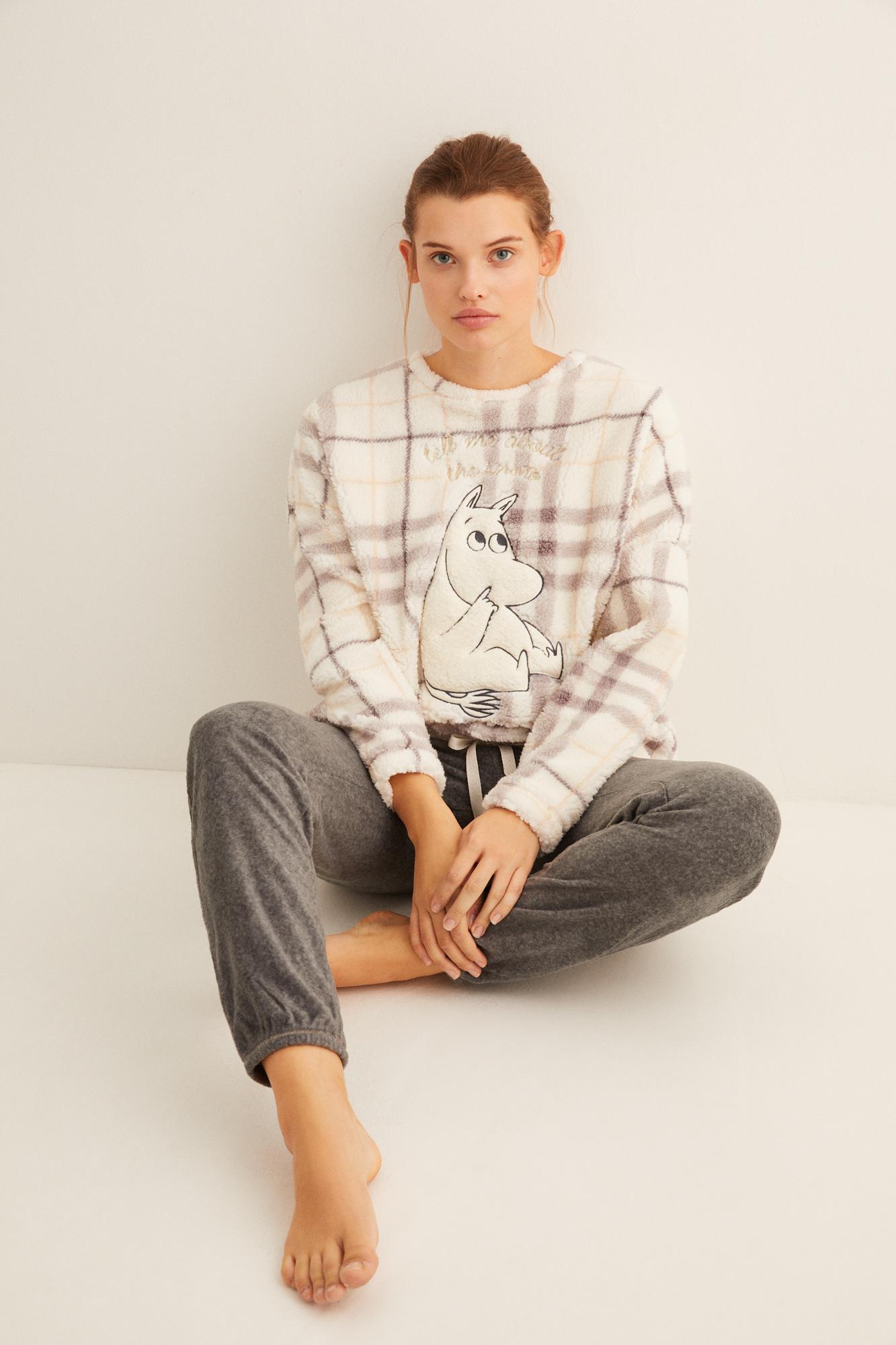 Pijama largo sherpa Moomin